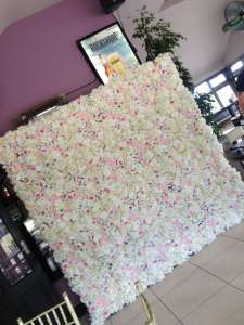 Flower wall hire cork